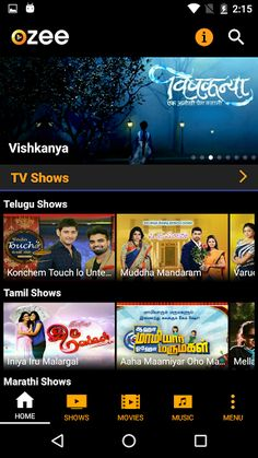 OZEE Free TV Shows Movie Music v11.2.90 [Ad-Free]   OZEE Free TV Shows Movie Music v11.2.90 [Ad-Free] Requirements:4.1 and up Overview:Enjoy a rich Video-On-Demand experience with the OZEE app. Choose from 550 TV Shows 300 Movies latest & popular Music Entertainment videos and many more of your favorite content from more than 7 Indian languages. Watch TV Show episodes in High Quality immediately after TV telecast.  Enjoy a rich Video-On-Demand experience with the OZEE app. Choose from more…