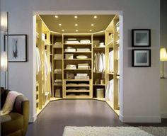 Master bedroom interior design master bedroom with walk in closet bedroom ideas with walk in wardrobe Master Bedroom Closet, Bedroom Wardrobe, Bedroom Closets, Dream Bedroom, Master Bedrooms, Master Suite, Closets Pequenos, Closet Walk-in, Closet Ideas