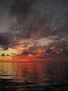 Sunset in Galveston | Texas (by Damon Bullman)