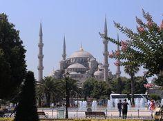 Sultanahmet under the sun - August 2015 La mosquée Sultanhamet sous le soleil - Août 2015 #turquie #sultanhamet #soleil #sun