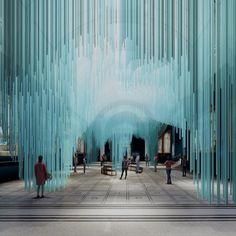 Су Фудзимото создал виртуальную инсталляцию для London Design Festival. Японский архитекторСу Фудзимото совместно со студиейTin Drum .