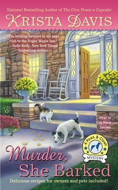 MURDER, SHE BARKED, A Paws & Claws Mystery by Krista Davis