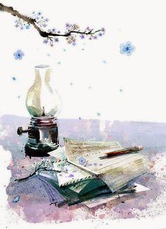 Nhà tranh của Hoa Ban (kho ảnh dùng cho hoạt động viết, edit, dịch ngôn tình ^^): Tỉnh vật vẽ