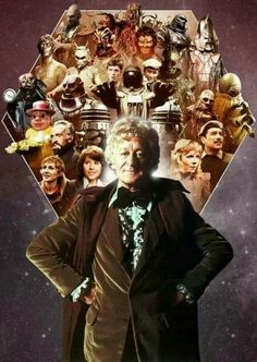 The Third Doctor...my favourite era of the show...