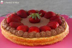 Crostata+Cioccolato+e+Fragole