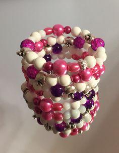 Memory Wire bracelets, Made By Arja Hannele