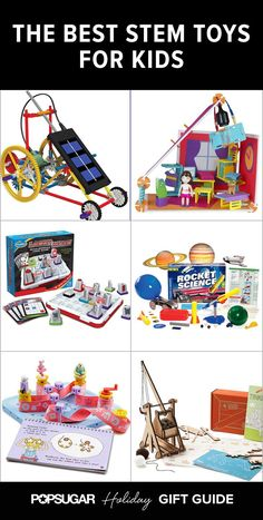 Make Learning Fun: The 28 Best STEM Toys For Kids. Lots of really cool ideas in here!