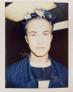 Beautiful Boys, Pretty Boys, Cute Boys, Beautiful People, Grey's Anatomy, Blue Hair Aesthetic, Cole Preston, Indie Kids, Indie Boy