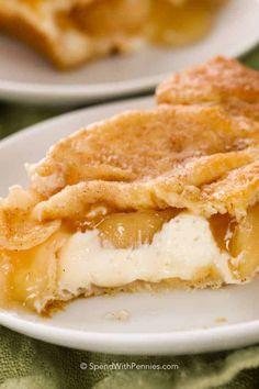 Apple Desserts, Apple Recipes, Easy Desserts, Delicious Desserts, Dessert Recipes, Easy Cream Cheese Desserts, Bar Recipes, Cream Cheese Danish, Sweets