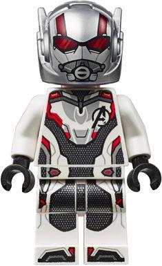 LEGO Superheroes Ant Man - End Game White Jump Suit (includes hair) Contains affiliate link. Legos, Minifigura Lego, Thor Girl, Ant Man Scott Lang, Hulk, Captain Universe, Silver Samurai, Lego Custom Minifigures, Lego Marvel