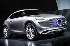 Energy Harvesting 2017 Mercedes G-code Concept