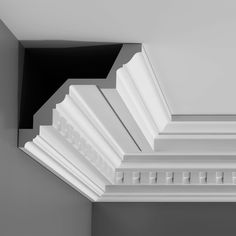 Crown Moulding Foam Crown Molding, Cornice Moulding, Crown Moldings, Plaster Cornice, Dentil Moulding, Panel Moulding, Wall Molding, Ceiling Materials, Orac Decor