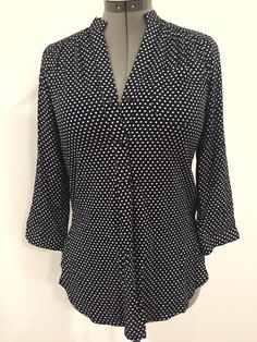 Would love a polka dot blouse with long sleeves