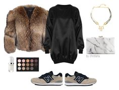 """#31"" by christiana-theodorou on Polyvore featuring Melody Ehsani, Marc Jacobs, Adrienne Landau, The Ragged Priest, MAC Cosmetics and neutral"