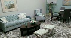 Bridal suite  Living room San Antonio, Texas Interiors by Martha