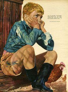John Bull, Magazine Plate, UK, 1950s Family Humor, Vintage Magazines, 1940s, United Kingdom, Plate, Cover, Funny, Fictional Characters, Art