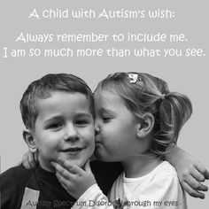 A Child with Autism's Wish
