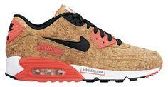 Using the similar materials as Nike Lebron X |  Nike Air Max 90 'Cork' (Spring 2015) - Preview