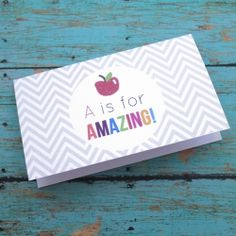 Got to remember teacher appreciation week: get a few packs of cards from the dollar store and have kids fill them out for their favorite teachers.