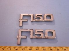 FORD F-150 Pickup 4X4 Used Factory Fender Emblems