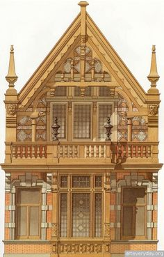 14 | Victorian Brick and Terra-Cotta Architecture - Викторианская кирпичная и терракотовая архитектура | ARTeveryday.org