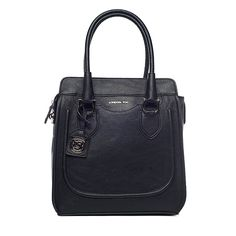 I love the London Fog Suffolk Tote from LittleBlackBag