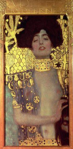 Judith, 1901. Gustav Klimt. Oil on canvas