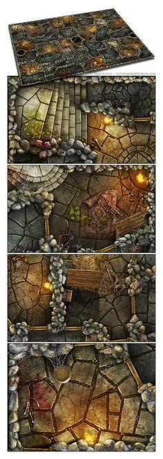 9 Best Descent Tiles images in 2016 | Dungeon maps, Descent
