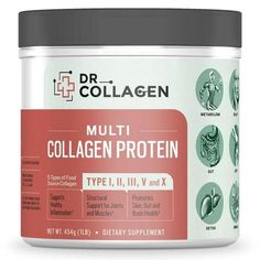 Collagen Protein | Dr. Axe. With Axe Naturals Collagen Protein, you can enjoy these many benefits: Healthy gut repair and function Greater mobility and flexibility Strong, healthy muscles Healthier, stronger bones and joints Vibrant, firmer, glowing skin