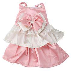vestido estilo elegante para cães (xs-xl, rosa) – BRL R$ 34,72