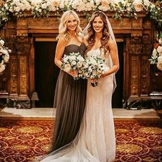 Candice with the bride at Kaylas Wedding