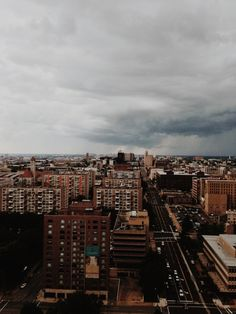 Storms hovering over the city.  St. Louis - Summer 2013  | vedahouse | VSCO Grid
