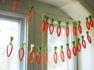 Paper Carrots!