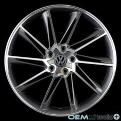 "18"" CC Concept Style Wheels Fits VW Golf Jetta CC EOS GTI Passat Audi A3 A6 Rims | eBay"