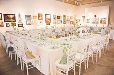 Art gallery reception