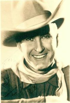 Tim McCoy, silent & sound actor, military(Brigadier General), expert on American Indian life and customs 1891-1978