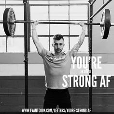 This is a big one because youre probably much stronger than you think you are. Youre just afraid to find out. What if you arent as strong as you thought you were? What if on the contrary it turns out that you actually are? Might I suggest you continue reading http://ift.tt/2n6P5c4