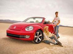 2013 VW Beetle Cabrio / Convertible @ LA Auto Show 2012 #lautoshow #vwbeetle