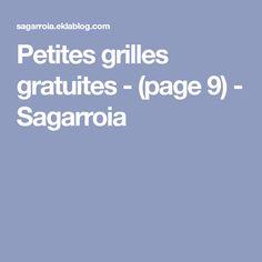 Petites grilles gratuites - (page 9) - Sagarroia