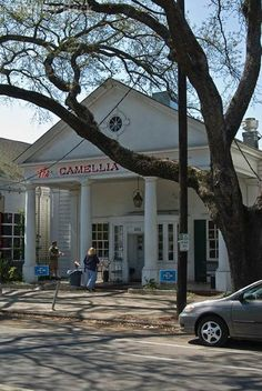 Camellia Grill...a NOLA staple! Fabled institution for diner fare dished out by bow-tied servers, plus late-night dining.