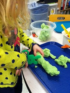 Tons of Occupational Therapy ideas for kids --- all at building those little things that are the base for bigger things.