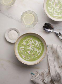 Green Gazpacho Soup   Vitamix Recipe