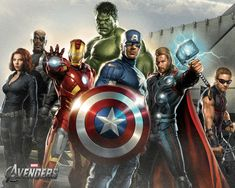 Avengers - Awww yeah, super dooper awesome!!!!!