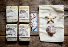 Soap Gift Set in muslin gift bag - you choose scents | Online auction for Ekubo Children's Home in Uganda!!!