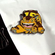 TOTORO CAT BUS PIN :D