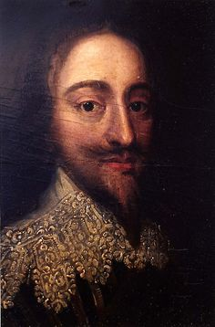 King Charles I, son of James I, grandson of Mary, Queen of Scots