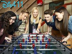 I Didnt Do It Premieres On Disney Channel January 17, 2014 - Olivia Holt, Austin North, Peyton Clark, Piper Curda and Sarah Gilman
