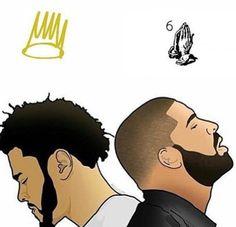 J.Cole x Drake ❤️