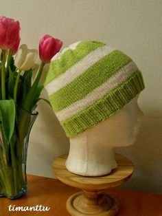 Kev�isen vihre�� Beanie, Knitting, Hats, Blog, Tricot, Hat, Cast On Knitting, Beanies, Blogging