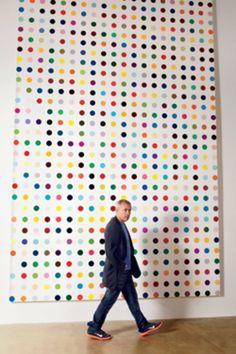 Damien Hirst's Spot Paintings